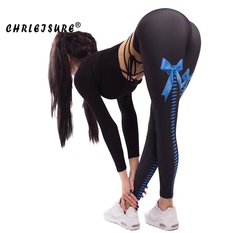 CHRLEISURE Print   Leggings   Women High Waist Hip Buttocks jegging Breathable Sweat Conventional Self-Cultivation Women   Legging
