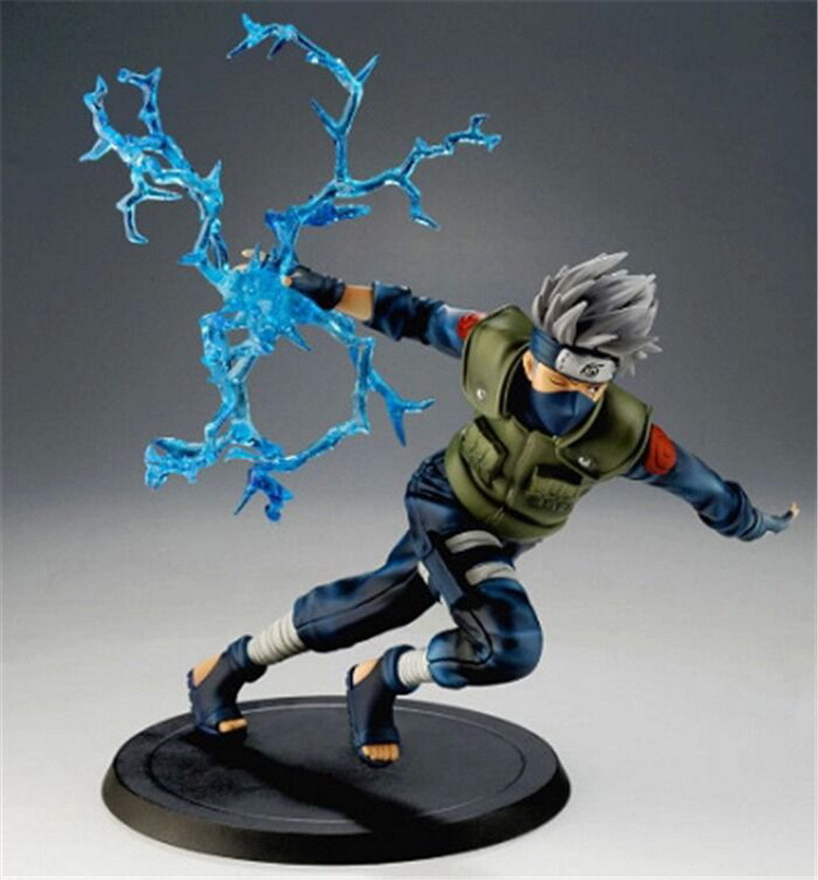 Naruto Action Figures Hatake Kakashi Nara Shikamaru Japanese Anime Figure Naruto Shippuden Movie Figure PVC Toys naruto action figure hatake kakashi flash power rock scene diy set naruto shippuden hatake kakashi model toy kakashi diy180