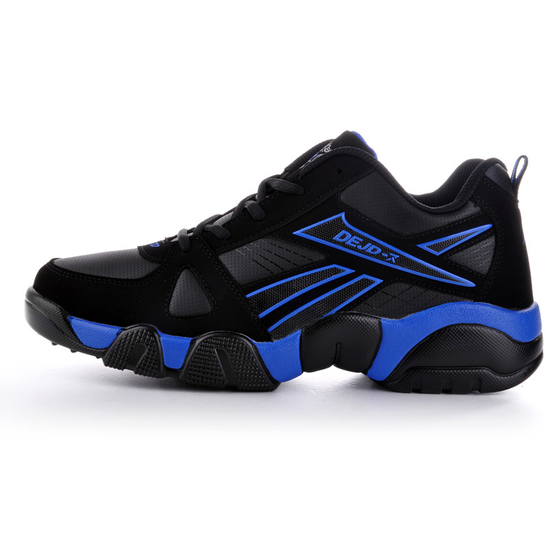 Big Size Leather Autumn Sports Shoes Mens New Running For Men Sneakers 35-48 Brand