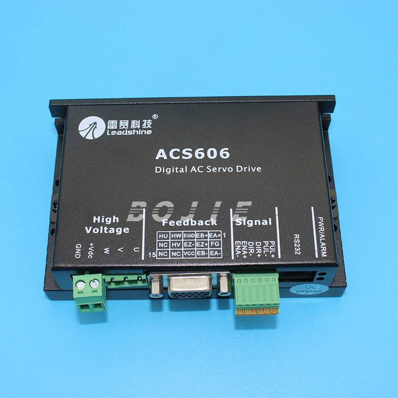Leadshine ACS606 motor Driver for DC Servo Motor 57BL180D-1000 leadshine blm57050 1000 50w dc servo motor acs606 servo drives ac servo performance