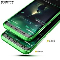 100 Brand New Original BOBYT Luxury Aluminum Metal Bumper Backplane Frame PC Back Cover For Samsung