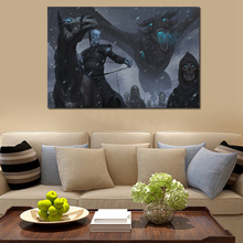 Game Of Thrones Season 8 Got Fan Art Canvas Painting Print Living Room Home Decor Modern Wall Oil Posters Pictures