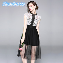 Women Summer Sexy O-Neck White Pink Dress Female Short Sleeve Femme Hollow Out Dresses Robe Evening Party Spring Apricot Clothes цена и фото