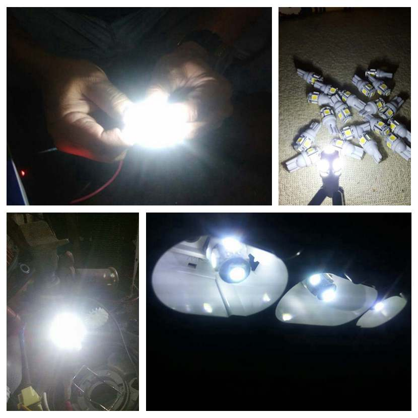 HTB1n0fKr9BYBeNjy0Feq6znmFXal 10PCS Led Car DC 12v Lampada Light T10 5050 Super White 194 168 w5w T10 Led Parking Bulb Auto Wedge Clearance Lamp