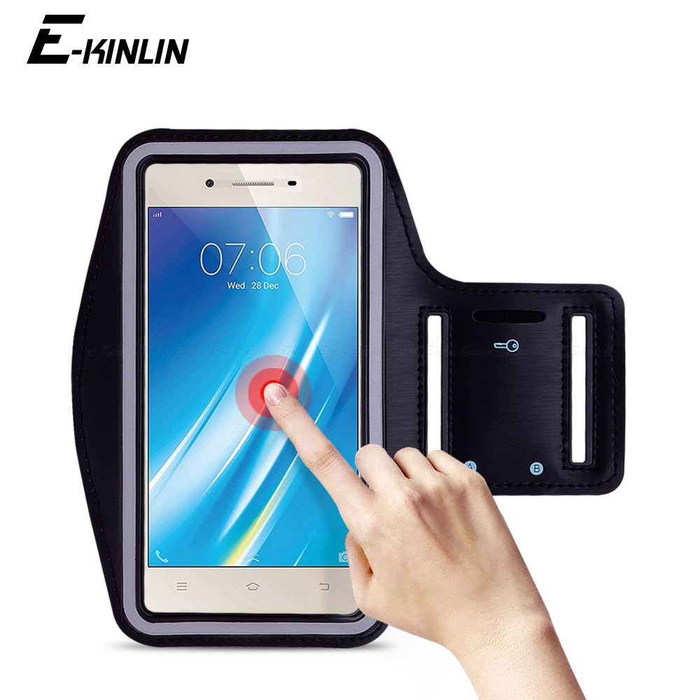 Sports Workout Running Cycling Gym Cover holder Phone Bag For BBK vivo Y55 Y55s Y53i Y53 Y51 Y37 Y35 Y33 Y31 Y25 Arm Band Case
