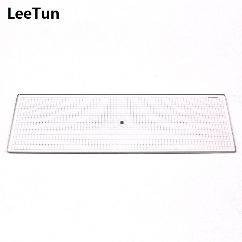 Microscope Objective Micrometer Grid Reticle Ruler Stage Micrometer 1x1mm 0.01x0.01mm Net Calibration Slide цена