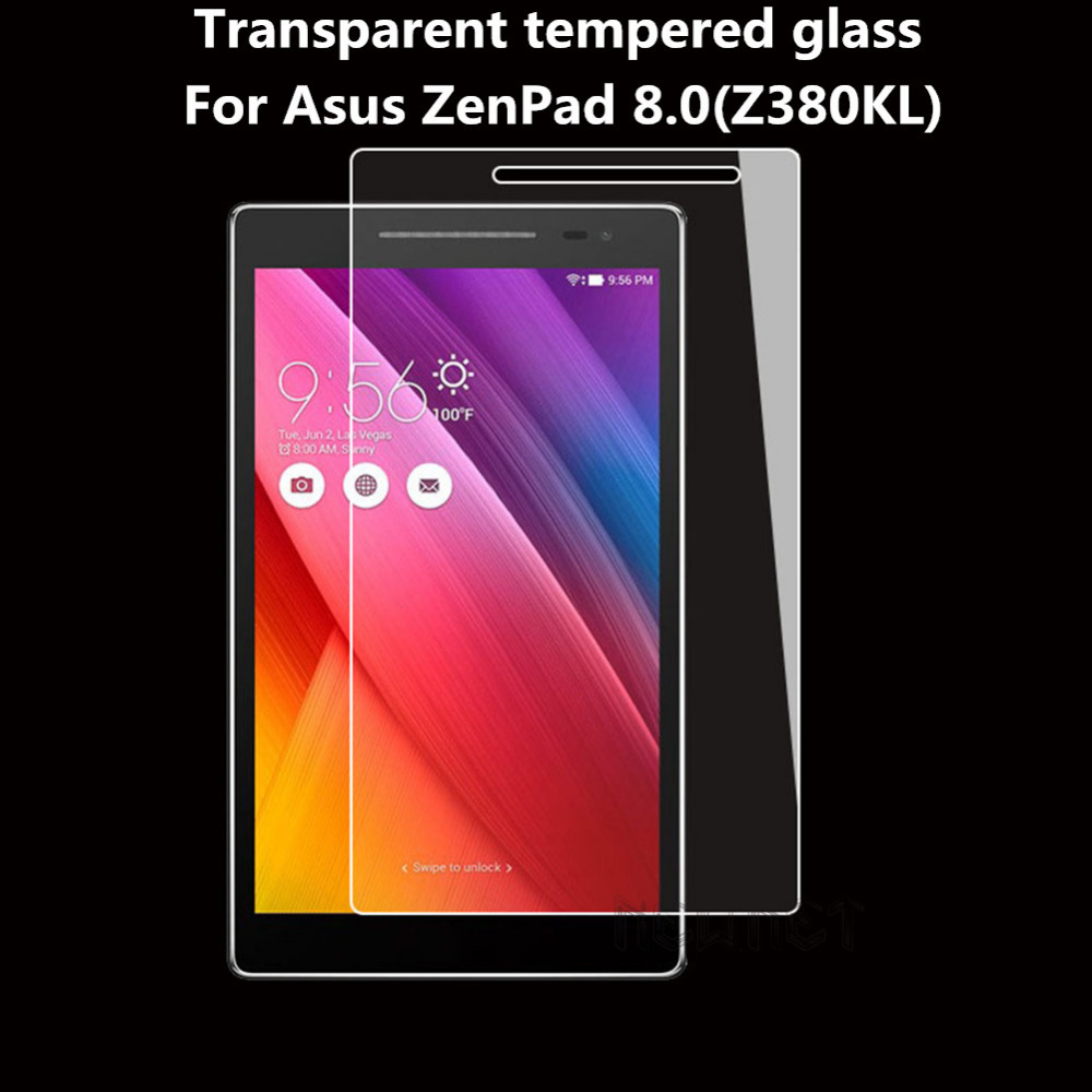 Tempered Glass Screen Protector For Asus ZenPad 8.0 Z380 Z380C Z380M Z380KL ZenPad S Z580 Z580CA Z580C Tablet Protective Film