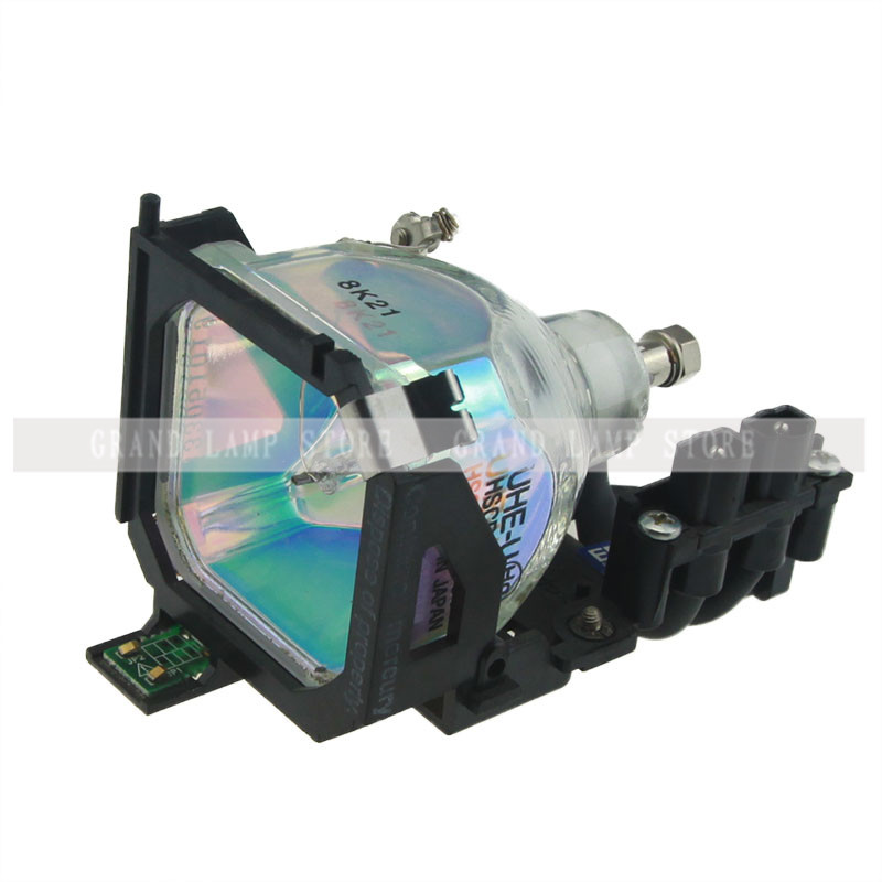 ФОТО Happybate ELPLP14-V13H010L14-Replacement Projector Lamp-with Housing-for-EPSON EMP-503 EMP-505 EMP-703