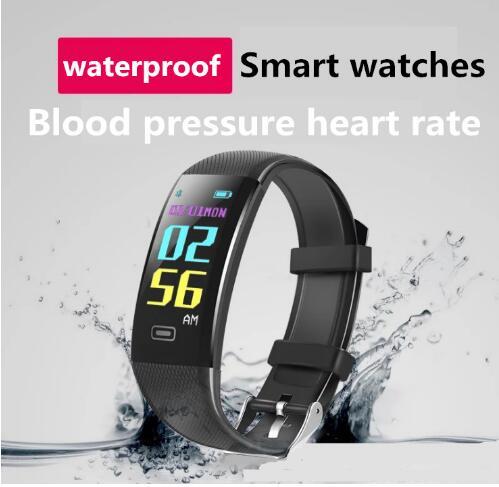 Image 5 - 新しいスポーツスマートブレスレット防水血圧計スマートブレスレットフィットネストラッカースマート歩数計スマートブレスレット PK 私バンド -    グループ上の 家電製品 からの スマート リストバンド の中