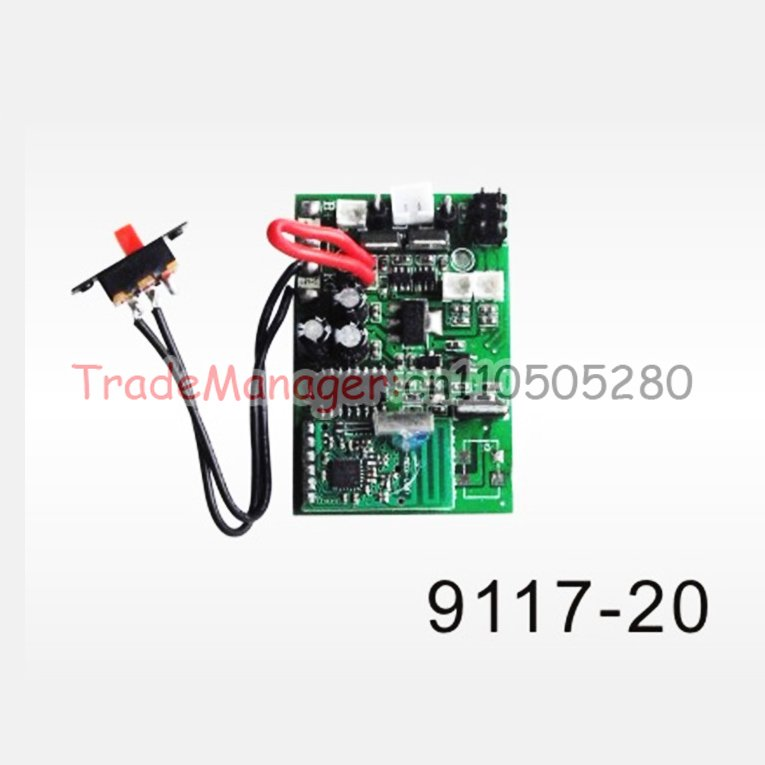 Wholesale DH9117-20 Double horse  9117 RC helicopter spare Controller Equipment  original production Free shipping double horse dh 9116 spare parts charger charger box 9116 21 for dh9116 9053 9053b 9097 9100 9101 9104 9117 9118 rc helicopter
