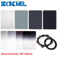 100mm X 150mm Graduated ND2 ND4 ND8 ND16 Neutral Density 100 150mm Graduated Square Filter Filter