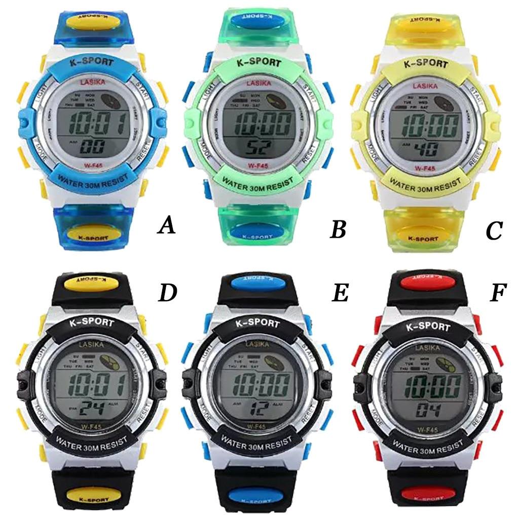 SYNOKE Hot Children Watch Boys Life Waterproof Digital LED Sports Watch Kids Alarm Watch Gift Digital Hombre Reloj Deportivo 7.2