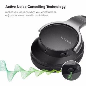 Image 3 - Ausdom ANC8 Cuffie Senza Fili Bluetooth Cuffie Anc Attivo con Cancellazione Del Rumore Auricolare Senza Fili di Bluetooth Hifi Bass Microfono