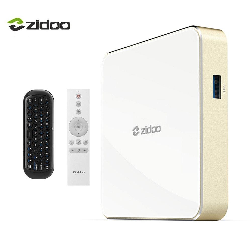 Zidoo H6 PRO TV Box 4K Android 7.0 Set top Box 60fps Quad-core CPU Mali-T720MP2 GPU 10bit color 2GB 802.11ac WIFI IPTV 1000M LAN allwinner h6 android 7 0 zidoo h6 pro tv box ddr4 2gb emmc 16gb ac 4k 10bit hdr wifi 1000m lan dolby digital dts hd smartcolo