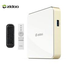 Zidoo H6 PRO Caixa De TV 4 K Android 7.0 Conjunto top Box 60fps CPU Quad-core GPU Mali-T720MP2 10bit color 2 GB 802.11ac WI-FI IPTV 1000 M LAN