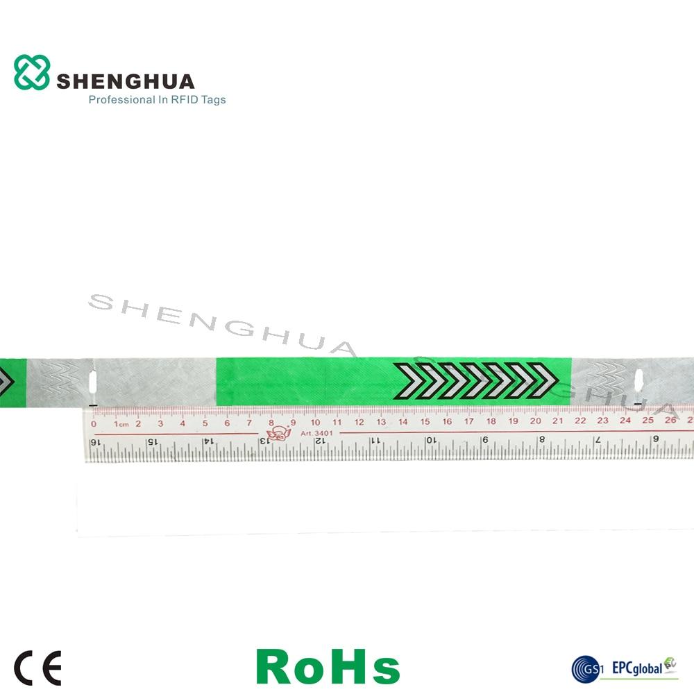 UHF RFID Bracelet With RFID Access Control System 200pcs
