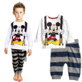 2017 Kids sets for boys Sleepwear Cotton Pyjamas Babys Clothing high-quality Baby Sets Underwear suits kids pajama sets 2-7y c27