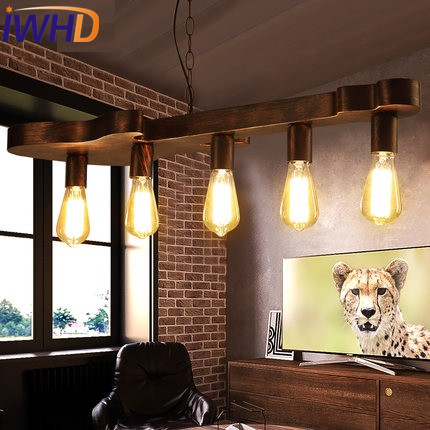 IWHD Edison Loft Style Industrial Wind Droplight Iron Guitar Vintage Pendant Light Fixtures For Dining Room Hanging Lamp simple bar restaurant droplight loft retro pendant lamp industrial wind vintage iron hanging lamps for dining room
