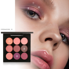 Focallure New Makeup Palette 9 Colors Eyeshadow Warm Cool Eye shadow Maquiagem cosmetics Gift kit set