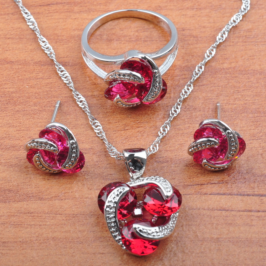 Band Rose Red Cubic...