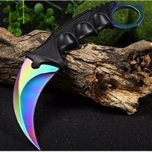 CSGO knife Multi tools Outdoor Survival Karambit Knives Camping Hunting counter