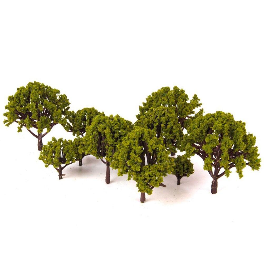 20 шт. модель поезд пейзаж дерево 3 см-8 см масштаб модель игрушка для детей Дети Свадьба миниатюрюры диорамы