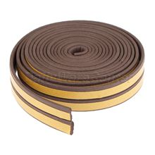 5M E/D/P/I Foam Draught Excluder Self Adhesive Window Door Seal Strip Noise Sound Insulation EPDM Silicone Sealing Sticker