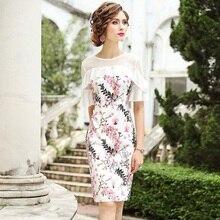 Package hip dress 3xl Spring 2019 new short Sleeve Women Celebrities Ruffles Flower Party Dress Plus Size Vintage dresses summer