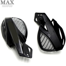 motorcycle accessories hand guards motocross motorcycle universal plastic 22mm for Yamaha YZF R125 YZF R15 YZF R25 YZF R3 MT-09