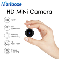 Marlboze 720P Full HD Mini IP Camera Built in Battery Body Camera Remote playback video Wifi Web cam support APP remote control