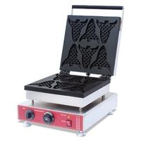 110V 220V Waffle maker shapes animal waffle maker/ waffle stick commercial corn dog machine