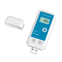 YMUP 20 PDF Temperature Humidity Recorder LCD IP54 Waterproof USB Data Logger Tester Detector Thermometer Hygrometer Meter