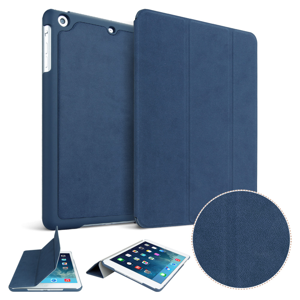 Case for iPad Air YRSKV Ultra Slim Light weight PU high quality deer leather Smart Auto Sleep Wake Tablet Case For Apple iPad luxury smart case for apple new ipad 9 7 2017 tablet deer pattern slim flip stand auto wake sleep cover for air 1 2