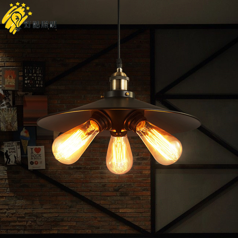wind restoring ancient ways is the sitting room lamps and lanterns of restaurant, bar, wrought iron three pot droplight ancient ways wrought iron chandelier personality american sitting room bedroom restaurant bar counter 4 head droplight