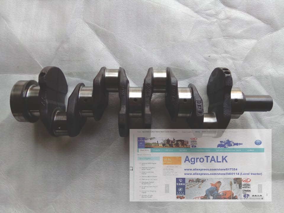 laidong km385bt for tractor like foton jm etc the exhaust manifold the silencer with two connecting bolts XINCHANG 490BT for tractor like Yituo 404, Foton FT404 series, the crankshaft, part number: B490B-05004