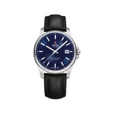 Наручные часы Swiss Military SM30200.12 мужские кварцевые на кожаном ремешке