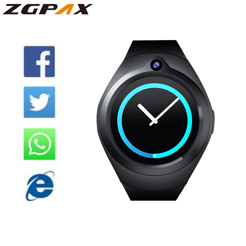 smartwatch GW11 for SAMSUNG gear S3 support 2 0MP camera Heart Rate Monitor Smart watches for
