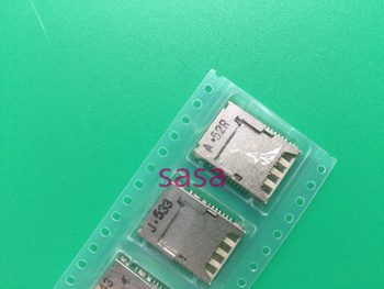100pcs/lot Original Sim Card Reader Holder With Memory Tray Slot Socket for LG G3 D855 F400 D859 D857 D728
