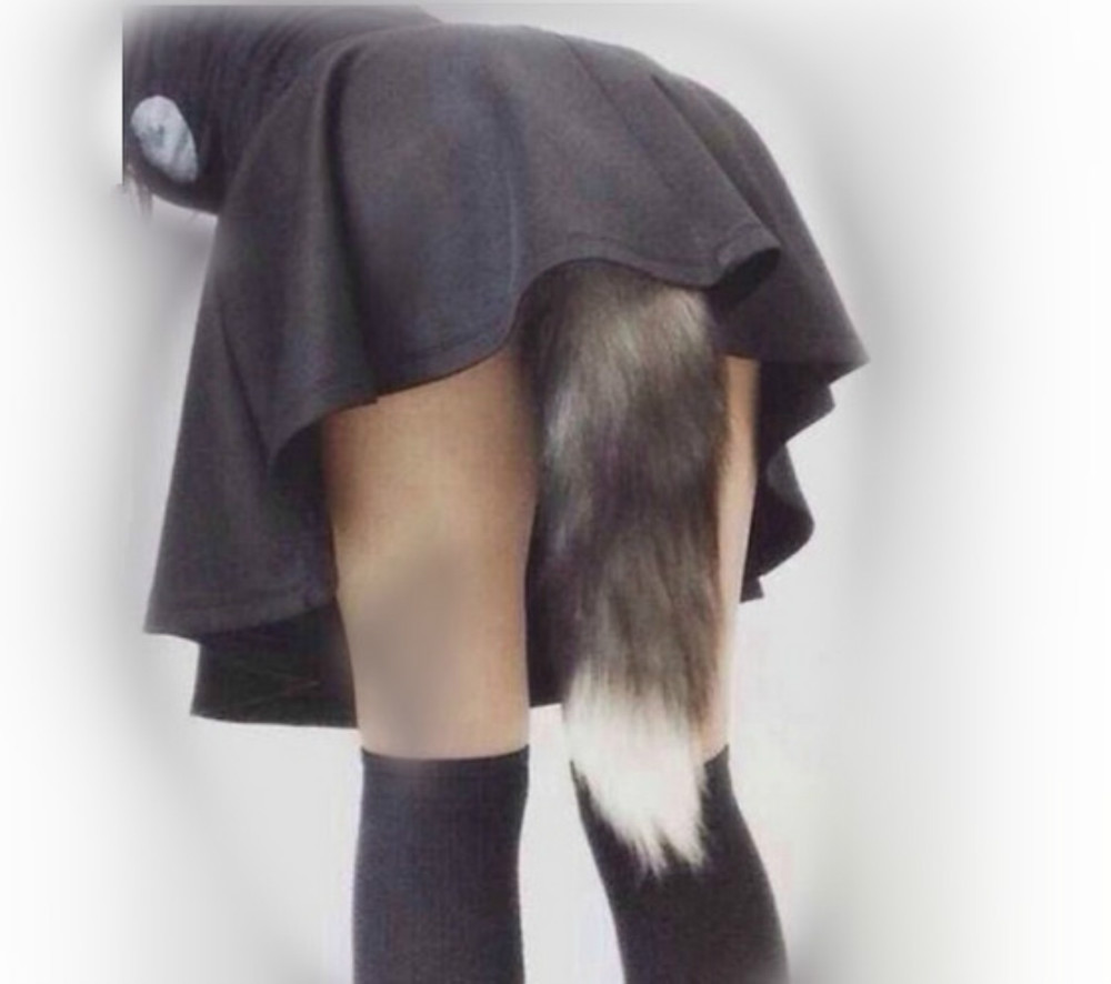 Faux Fur Tail Butt Plug