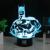Lámpara de Capitán América Spiderman 3D serie de La Lámpara LED de La Novedad Luces de La Noche del USB Luz de Vacaciones Regalo de Navidad Que Brilla Intensamente HUI YUAN Marca