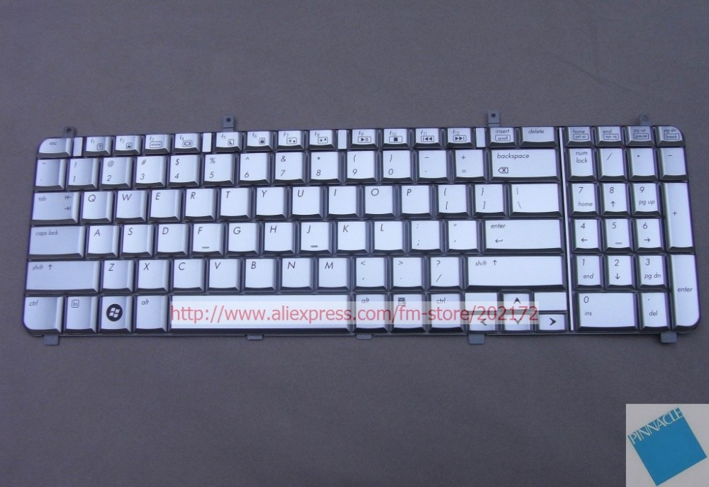 Brand New Silver Laptop  Notebook Keyboard 496672-001 AEUT6U00020  For  HP HDX X16 series (US) new keyboard us version for hp pavilion touchsmart sleekbook 703915 001 2b 06401q110 mp 12g63us 920 aeu36u00010 without frame