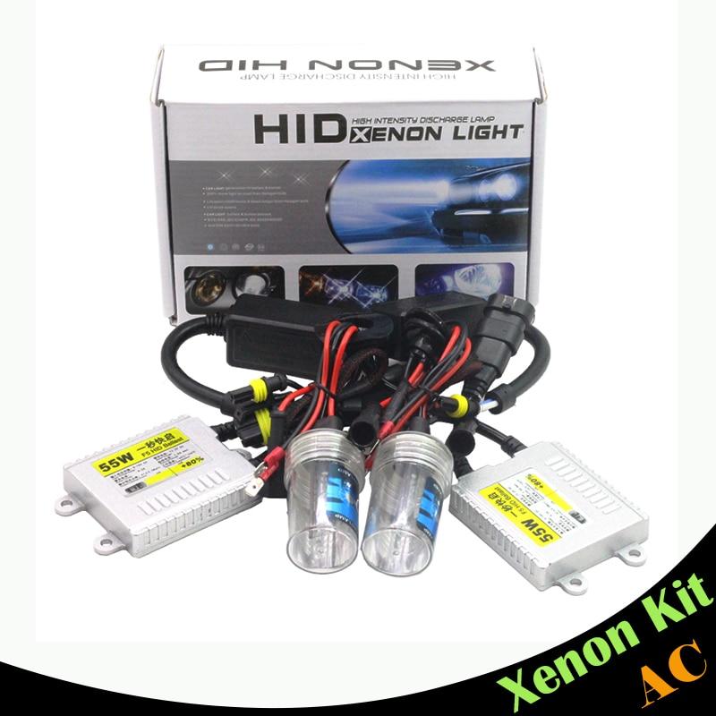 Cawanerl 55W Xenon Kit HID Ballast Bulb AC 12000K Car Headlight Fog Light DRL 9005 HB3 H10 9006 HB4 880 881 H1 H3 H7 H8 H9 H11 xenon hid kit h1 h3 h7 h8 h9 h10 h11 h16 9005 9006 hb3 hb4 ds2 d2r 4300k 12000k 55w ac digital ballast 12v