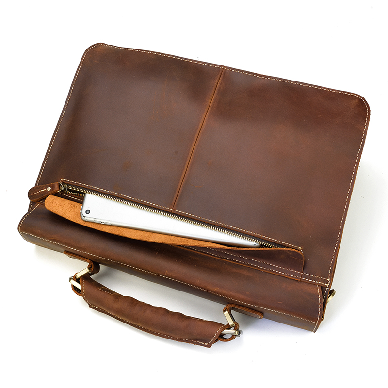 HTB1n0lzQSzqK1RjSZFpq6ykSXXa6 MAHEU Luxury Fashion 100% Genuine Leather Men Briefcase Cow Leather Laptop Bag Vintage Shoulder Bag Real Cowhide Computer Bag