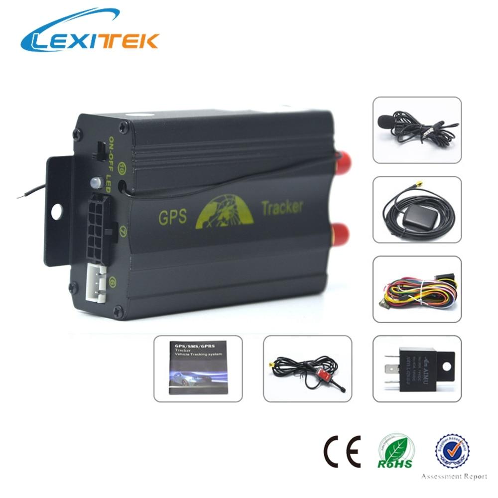 Автомобильная система coban gps трекер система gps GSM Автомобильный gprs-трекер локатор TK103B с пультом дистанционного управления SD sim-карта Противоугонная