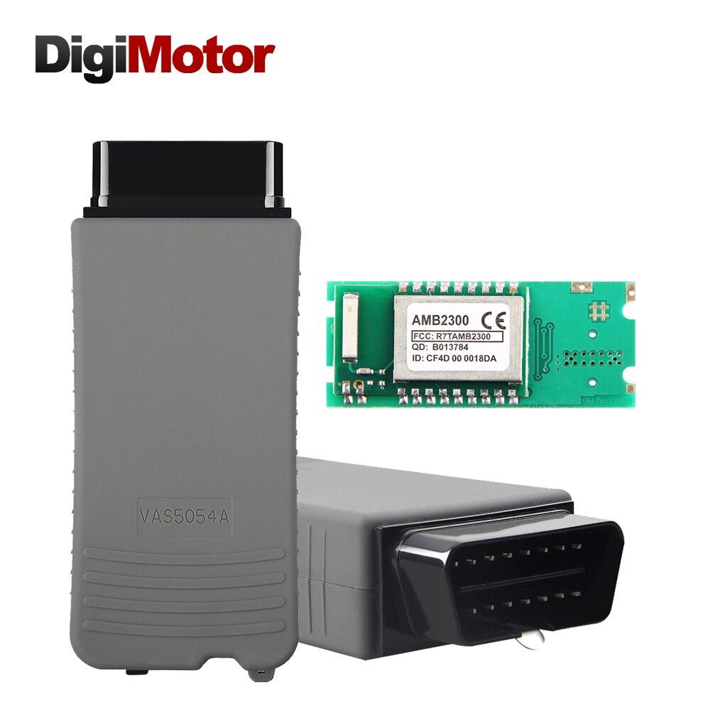 New ODIS v4.0.0 VAS5054A Oki AMB2300 VAS 5054A Full Chip VAS5054 5054 Diagnostic Tool Scanner OBD2 Diagnostic-Tool Support UDS