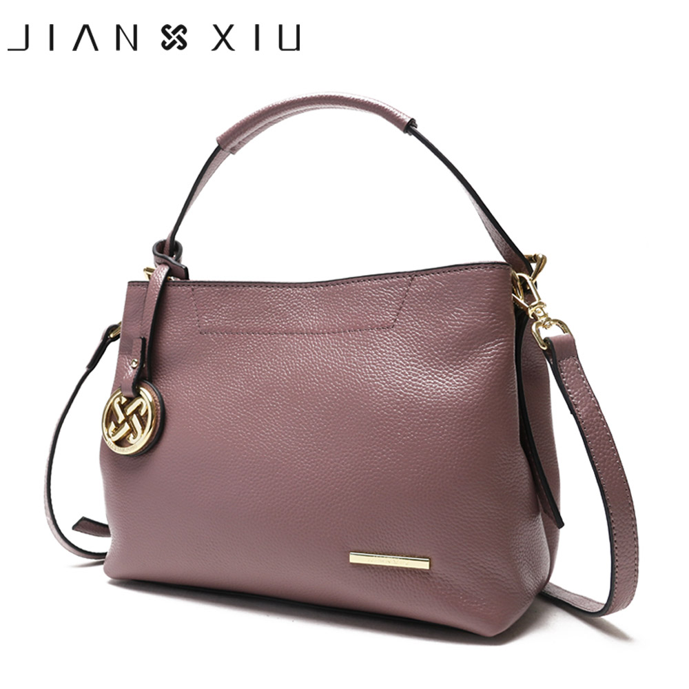 JIANXIU Genuine Leather Bag Luxury Handbags Women Shoulde Bags Designer Handbag Bolsa Bolsos Mujer Sac a