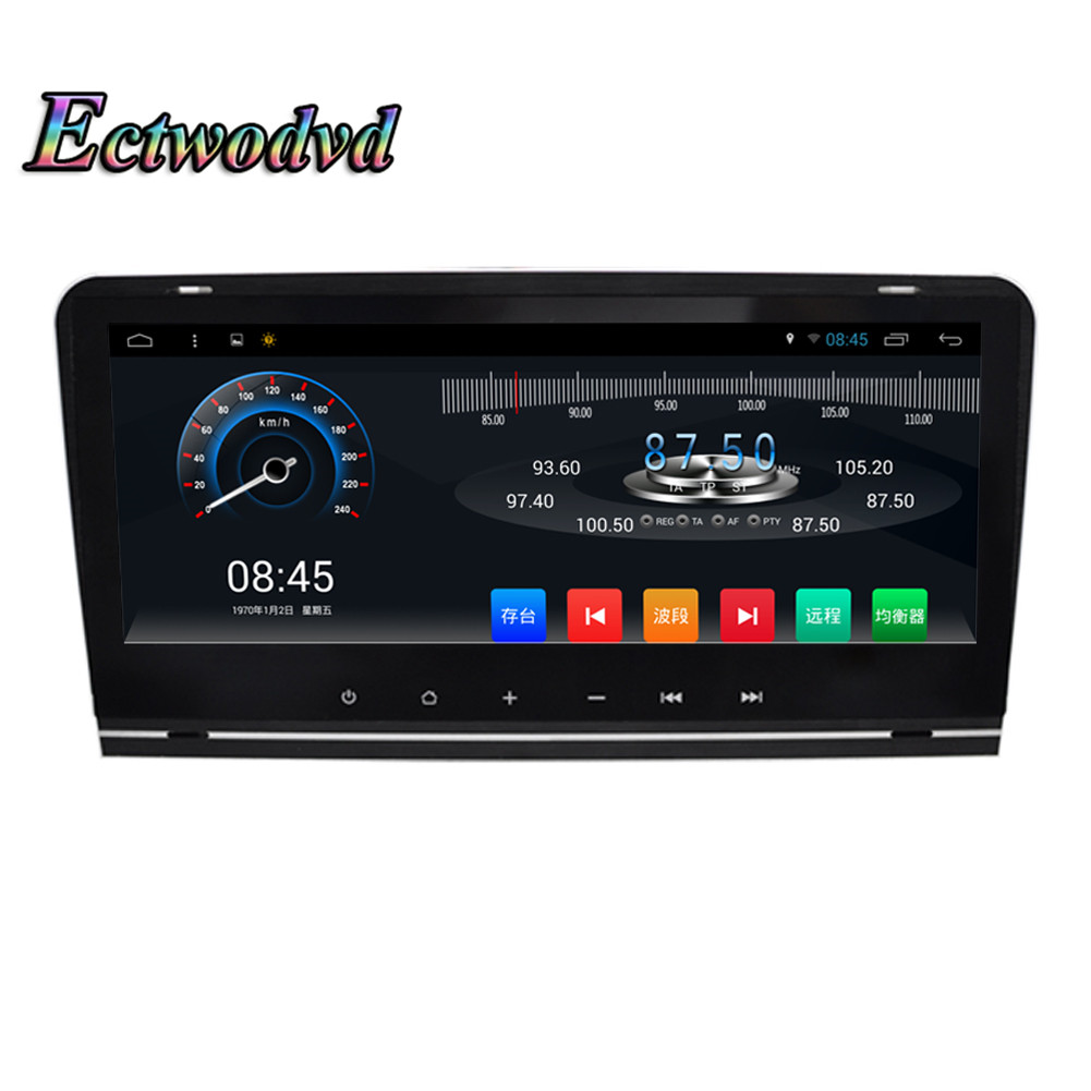Ectwodvd Quad Core 8.8inch Android 6.0 Car DVD GPS Navigation Radio for Audi A3 2003 2004 2005 2006 2007 2008 2009 2010 2011 topnavi 10 1 octa core android 8 1 2 32gb head unit car radio for lexus is250 is350 2005 2006 2007 2008 2009 2010 2011 3g rds