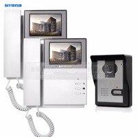 800 X 480 HD 4 3inch Video Intercom Video Door Phone Doorbell 1 Camera 2 Monitors