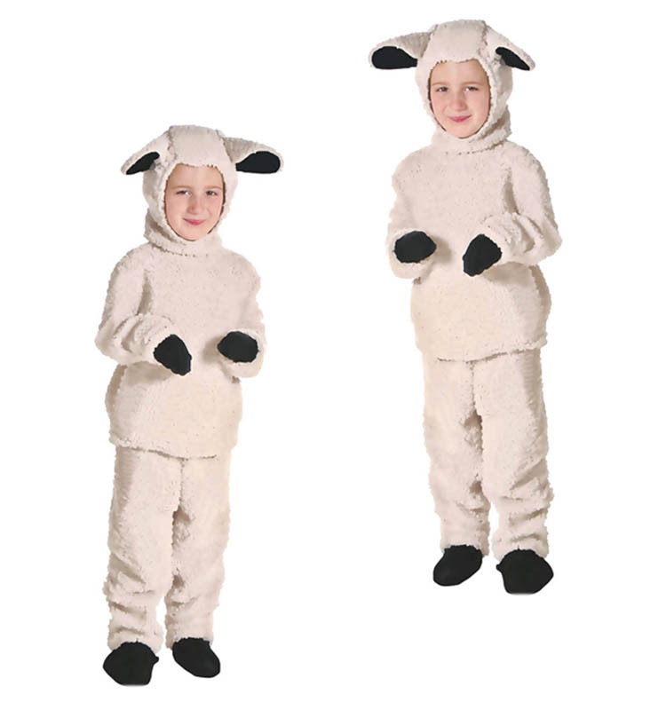 Children Adult Lamb Playing Clothing Stage Performance Kindergarten Parent-child Activities Game Clothing Photography Suit Kids