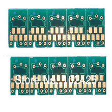16Pcs vilaxh One time Chip For Epson 4400 4450 4800 4880 7800 7880 9800 9880 Printer Cartridge Chip chip decoder for epson 7800 9800 7880 9880 printer electronic decryption card